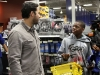 LA Dodger Andre Ethier helps kids go on shopping spree at Burbank Best Buy -4