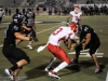 Burroughs vs Hoover Varsity Football 10-18-12  -4483