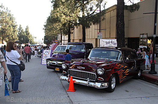 No celebration would be complete without the Road Kings showing off their cars from the past.