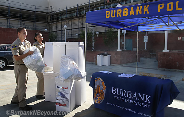 Burbank Police Drug Collection Event