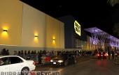 Burbank Best Buy opened it's doors on Black Friday to over 500 waiting customers.  (Photo by Ross A. Benson0