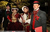 Carolers sing during this yaers Holiday In The Park.  (Photo By Ross A. Benson)