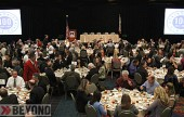 Over 350 City officials and Burbank business leaders gathered at the Burbank Airport Marriot to hear Mayor Jess Talamantes talk about the State of the City    (Photo By Ross A. Benson