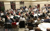 Rancho residence gather for community meeting about development in the Rancho area.  (Photo by Ross A. Benson)