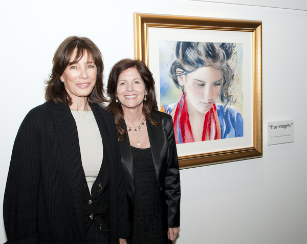 Artist Pomm and Actress Anne Archer