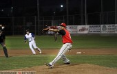 Burroughs pitcher Luis Pereyra went the distance vs Burbank High in a 2-0 win. (Photo by Ross A. Benson)