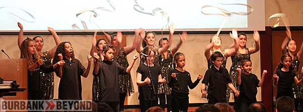 Boys & Girls Club youth entertain. (Photo by Ross A. Benson)