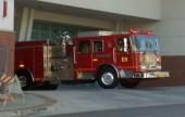 Burbank Fire Engine