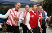 Keeping the crowd entertained was this Barbershop Quartet (Photo by Ross A. Benson)