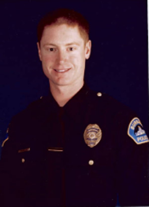 Burbank Police Officer Matthew Pavelka who was tragically murdered on November 15, 2003