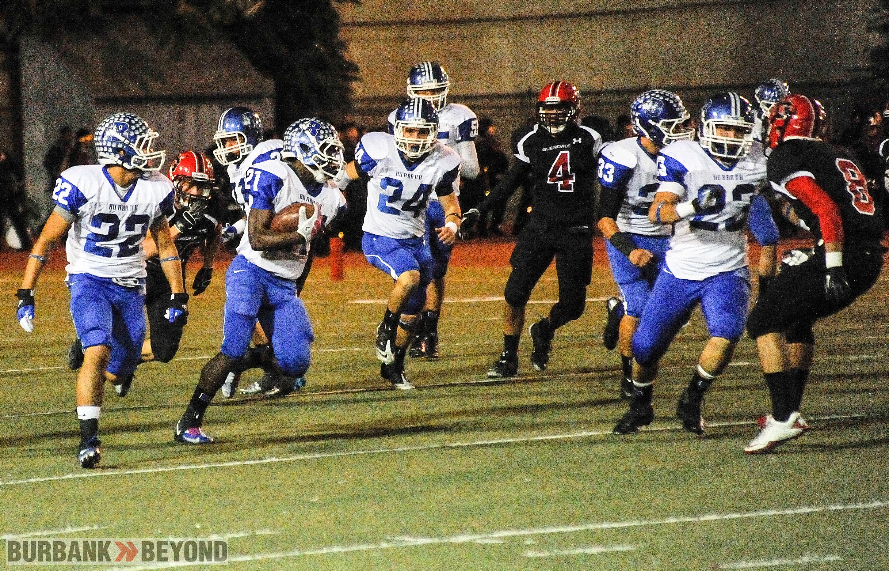 James Williams rushed for 194 yards (Photo by Craig Sherwood)