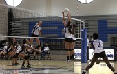 Burbank High Girls Volleyball vs Arcadia (Photo by Ross A. Benson)