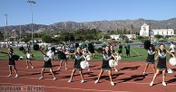 Midget Green Cheerleaders (Photo by Ross A. Benson)