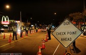 Burbank Police Departments DUI Checkpoint. (Photo by Ross A. Benson)
