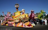 Burbank's 2013 float entry ' Deep Sea Adventure' is ready for the world to see. (Photo by Ross A. Benson)