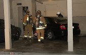 Burbank Firefighters and Police responded to 458 E. Tujunga Avenue on Wednesday evening to a report of a car into building, upon their arrival they located the driver Aratek Murkelyan, who said he accidentally hit the gas pedal. (Photo by Ross A.Benson)