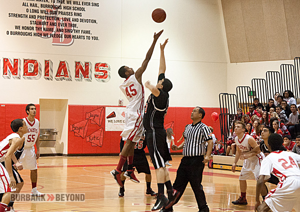 Burroughs vs. Glendale (Photo by Dick Dornan)
