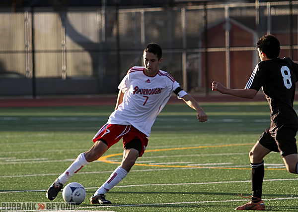 Brian Arzate of Burroughs (Photo by Ross A. Benson)