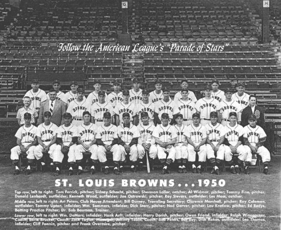 1950 St. Louis Browns