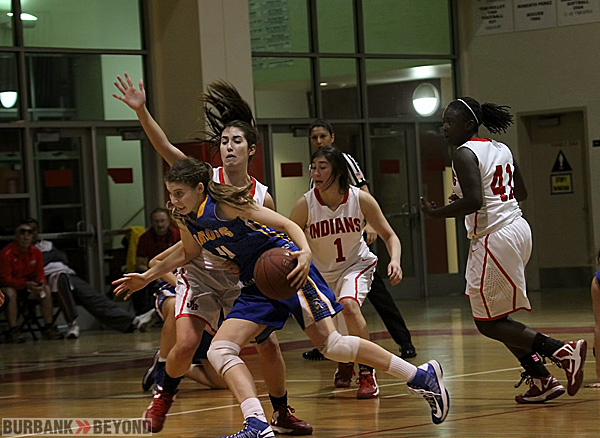 Burroughs struggled to keep Fountain Valley at bay in the loss (Photo by Ross A. Benson)