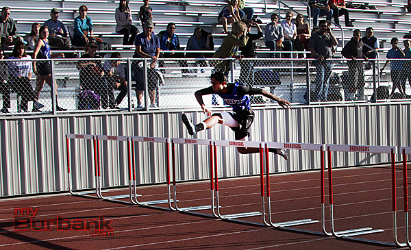 Boys 300 Hurdles (Photo by Ross A. Benson)