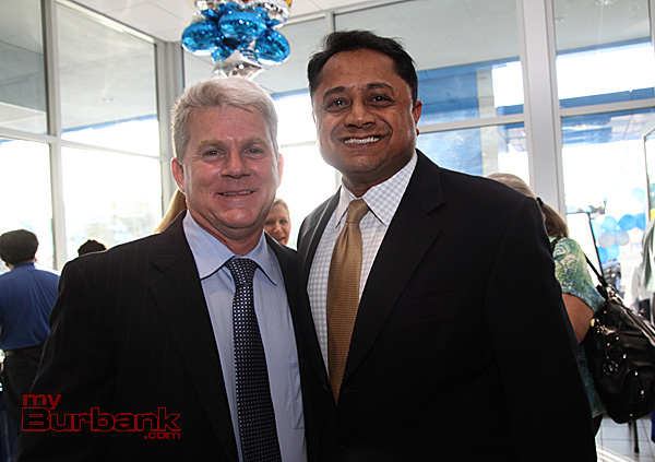 Community Chevrolet Owner Fred Bell along with Sunder Ramani local business owner. (Photo by Ross A. Benson)