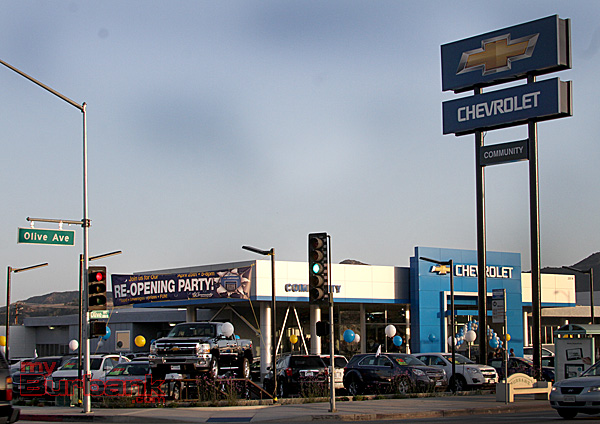 community chevrolet thanks burbank for the great support myburbank. Cars Review. Best American Auto & Cars Review