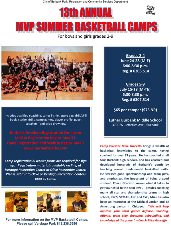 basketball camp July 15