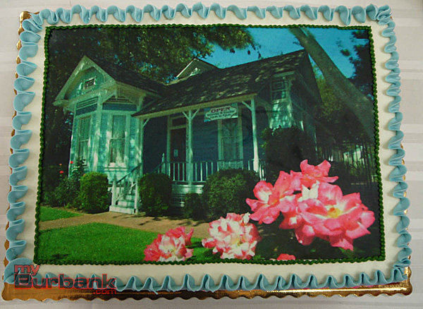 Cake featured image of the Mentzer House, which saved from the wrecking ball in 1979, and is now part of the society's museum complex.  (Staff Photo)