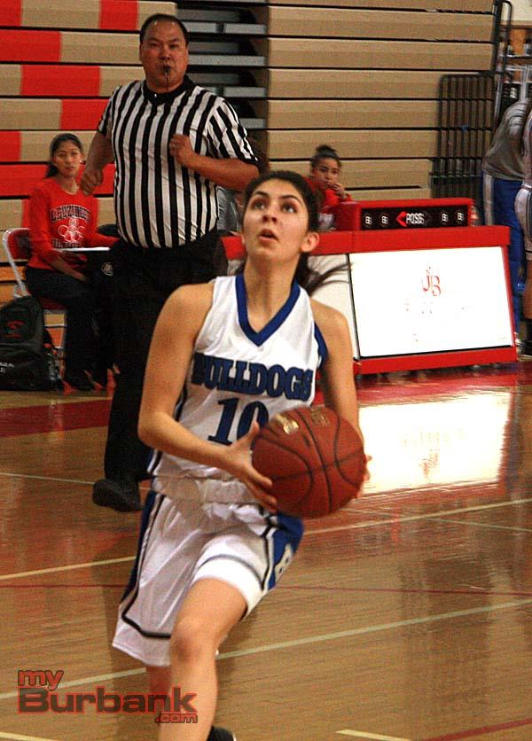 Ani Temurian scored 12 points (Photo by Dick Dornan)
