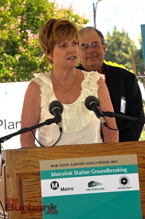Burbank Airport Commissioner Sue Georgino