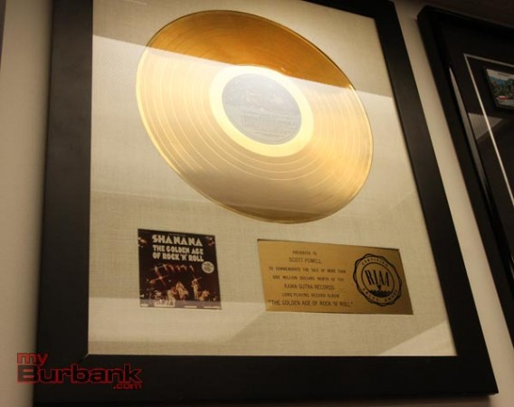 Sha Na Na gold record (Photo by Ross A. Benson)