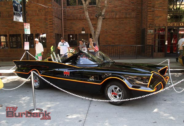 George Barris Bat-mobile. (Photo by Ross A. Benson)