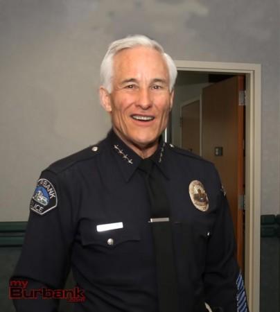 Burbank Police Chief Scott LaChasse.
