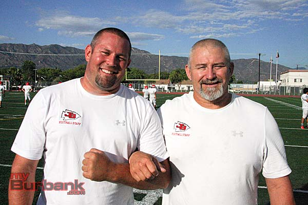 Brothers in Arms: Kenny (lt) and Keith Knoop (Photo by Dick Dornan)