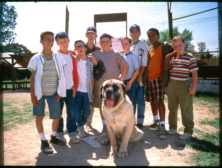 The Sandlot Dog 1 as the san diego padres