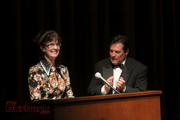 Mayor Emily Gabel-Luddy and Jeff Rector President / Festival Director. (Photo by Ross A. Benson)