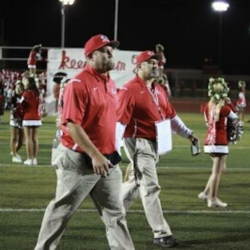 Kenny (left) and Keith begin another season together at Burroughs (Photo courtesy of Kenny Knoop)