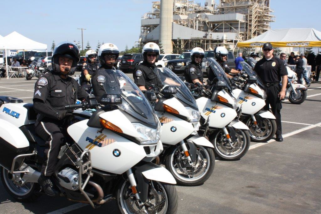 police motorcycle team earns award at recent competition