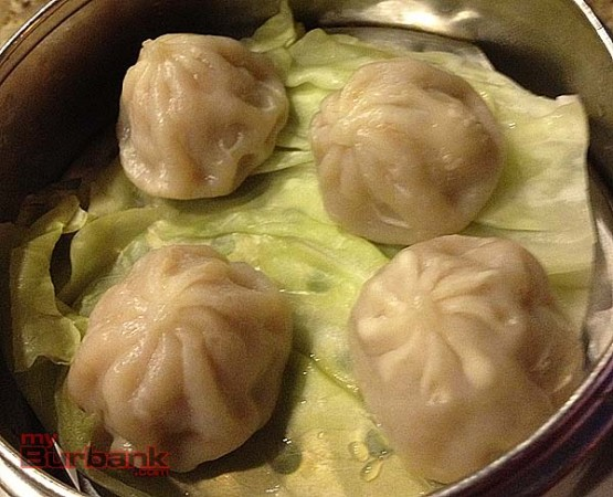 Pork Shu Mai, steaming hot. (Photo By Lisa Paredes)