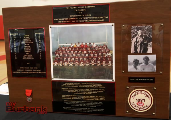 1981 Football team (Photo by Ross A. Benson)