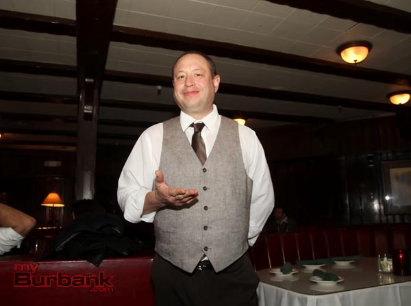 General Manager Israel Aviles, always at your service. (Photo by Ross A. Benson)