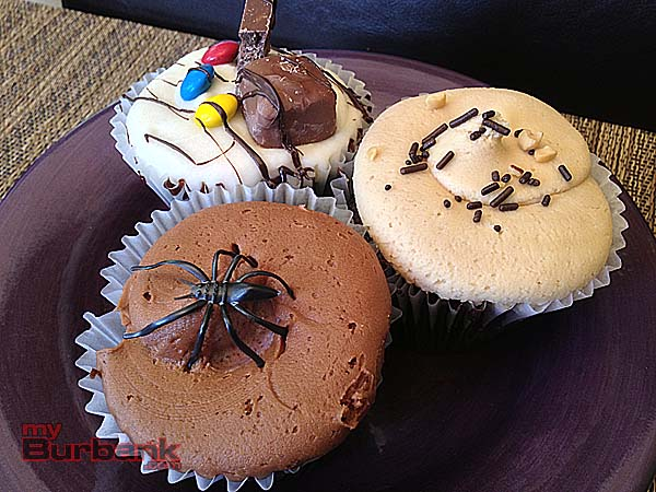 Midnight Delight, Trick-or-treat, Peanut Butter Cup, from foreground left, clockwise rotation. (Photo By Lisa Paredes)