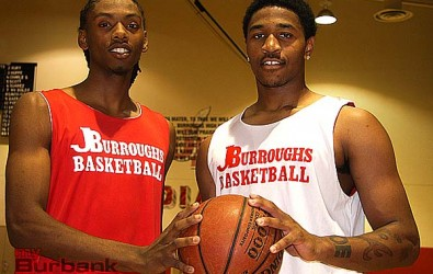 Rashid Ewing (left) and Amaad Wainright will provide fans with an entertaining style of basketball (Photo by Dick Dornan)