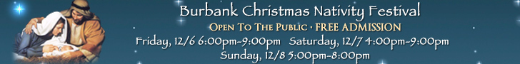 Burbank Nativity Festival Dec 8