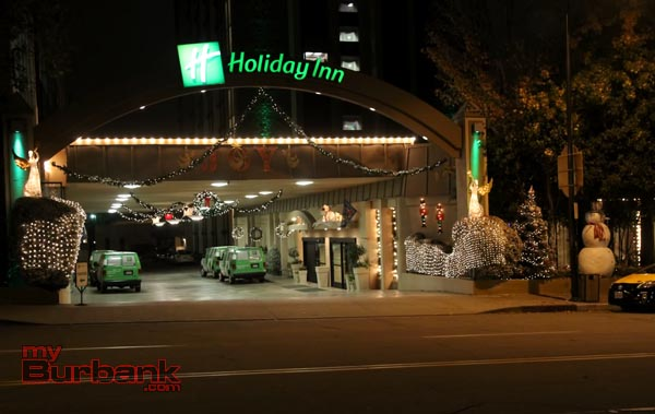 Winner of the Business Division The Holiday Inn. (hoto by Ross A. Benson)
