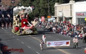 Burbank's Rose Parade Float comes home a winner with the Fantasy Trophy. (Photo by Ross A. Benson)