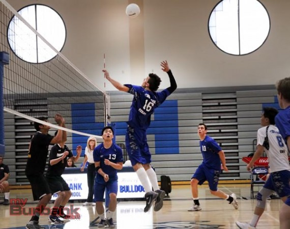 Burbank is off to a high-flying start in boys volleyball (Photo by Ross A. Benson)