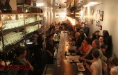 Luna Vine Wine Bar celebrates its grand opening with a packed house. (Photo By Ross Benson)