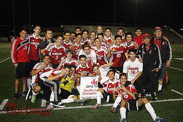 Burroughs Indians: 2014 League Champions